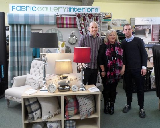Fabric Gallery at York Lifestyle Exhibition - Saturday; photo