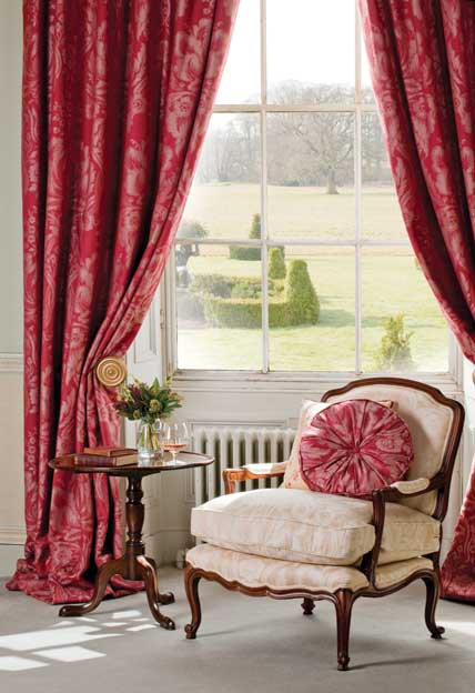 scutt and coles juneau fabric collection - roomset image