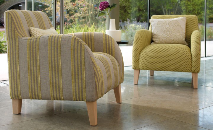 villa nova provence weaves - upholstered chair image