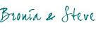 Bronia and Steve (signature)